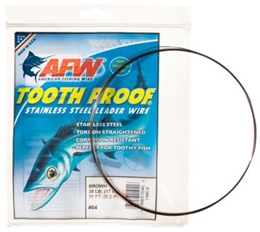 Picture of American Fishing Wire Tooth Proof Stainless Steel Leader Wire