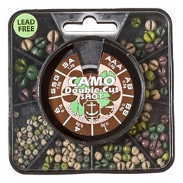 Picture of Anchor Non-Toxic Camo Double-Cut Split Shot - Big Box