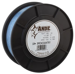 Picture of Ande Back Country Monofilament Line - 1/2 lb. Spool