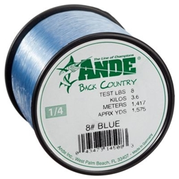 Picture of Ande Back Country Monofilament Line - 1/4 lb. Spool