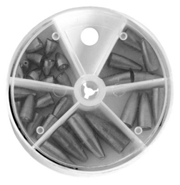 Picture of Bass Pro Shops 29-Piece Worm Sinker Assortment