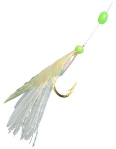 Hayabusa Feather and Yarn Sabiki Hot Hook Bait Rig